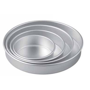 TORTIERE IN ALLUMINIO diametro mm 260 BORDO mm 30-45
