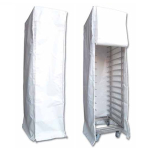 CUFFIA COPRI CARRELLO IN PVC per carrello a guide cm 40x60