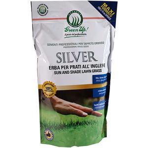 Semi per prato inglese GreenUp Silver Herbatech - Immagine Verde
