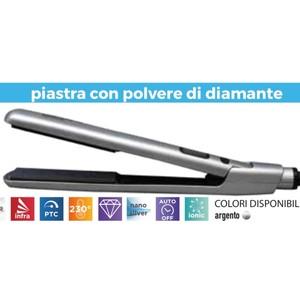 PIASTRA RETRO' CON POLVERE DI DIAMANTE RUP 134C/D