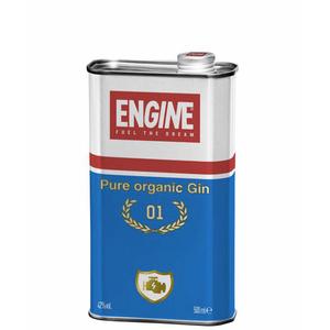 Engine pure organic gin bio