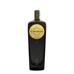 Scapegrace premium gold dry gin