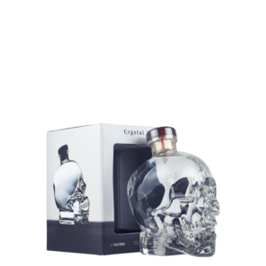Vodka crystal head  con astuccio