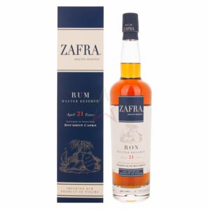 Zafra rum  master reserve 21 anni  con astuccio