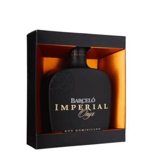 Rum barcelo' imperial onyx   con astuccio