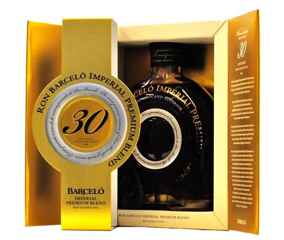 Ron barcelo imperial premium rum 30 aniversario 0 7 l 43