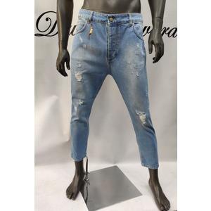 Jeans Free Joy.Vestibilita' loose morbida