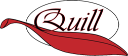 Logo quill