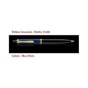 D 600 blu e nero