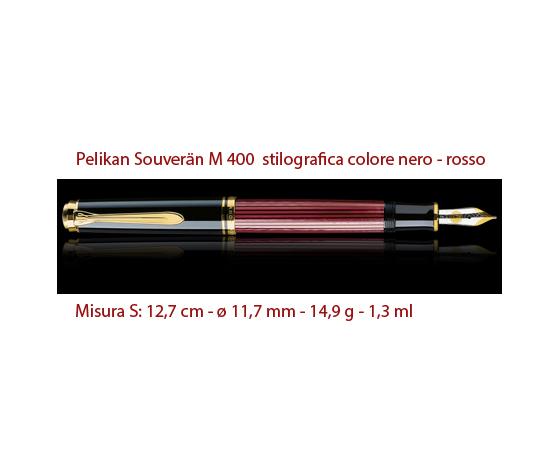 m 400 nero rosso