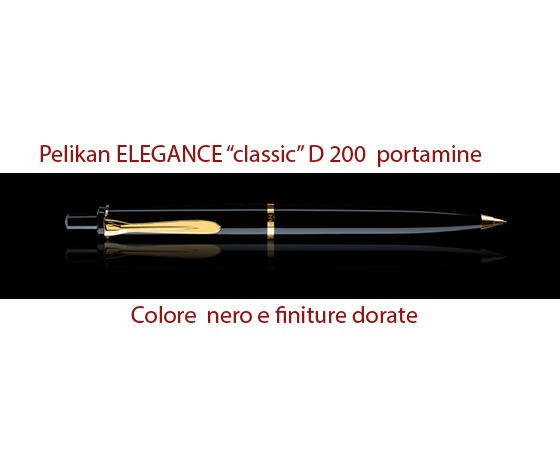 D 200 portamine nero