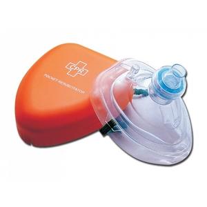 Maschera monouso per respirazione bocca a bocca cpr
