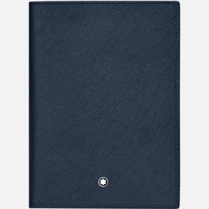 Custodia per passaporto Montblanc Sartorial Blu MB128598