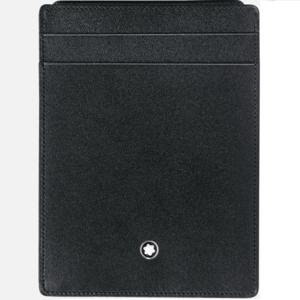 Custodia tascabile Montblanc Piatta 4 scomparti Meisterstück con portadocumento MB2665