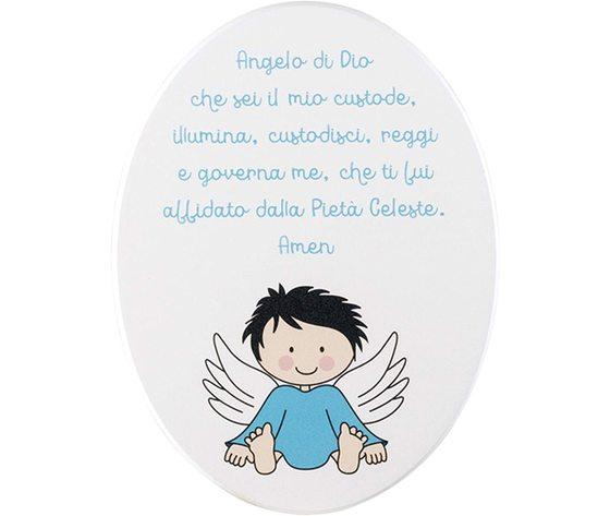 PREGHIERA OVALE ANGELO DI DIO
