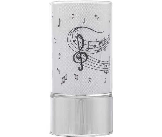 lampada note musicali