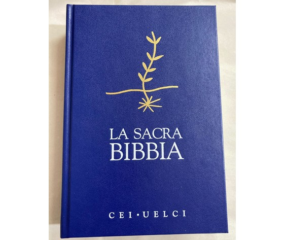 BIBBIA CEI BLU