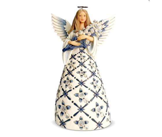 BLUE ROSES ANGEL