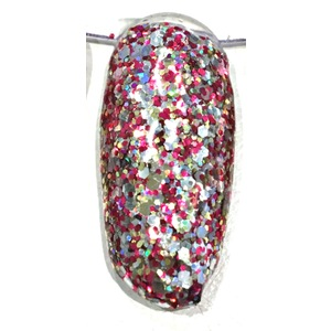 COLOR GEL UV & LED GLITTER MULTICOLOR  527