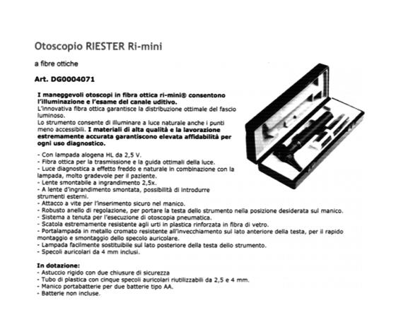 Otoscopio
