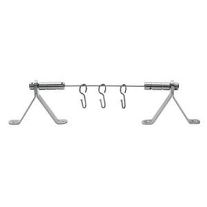 Pulsar Cavo in acciaio inox per tende d'arredo 2 mm nelle finiture Lucido o Satinato,tende e accessori, scorritenda, bastone in acciaio per tende