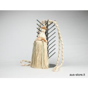 Bracciale per tende, porta embrasse, fiocco decorativo, santa maria, tende morbide, tendaggio d'arredo, tende classiche