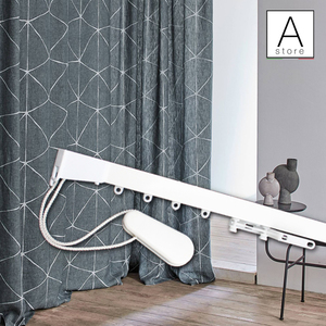 Sistema professionale per tende morbide in alluminio con movimentazione a corde MADE IN ITALY