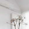 Arricciata lino bianco