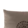 Cuscino con inserto marrone
