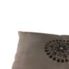 Cuscino con inserto marrone2