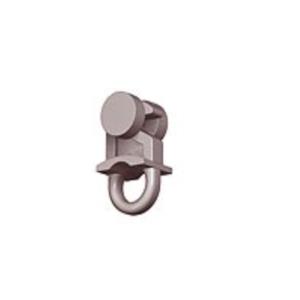SCORREVOLE CON RULLINO GANCIO per Binario tenda Arquati: Ronde - Rondel - Guizzo - Compatibile anche con sistema SKi AUS-store