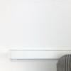 Cubo binario per tende decorativo bianco per tende a onda