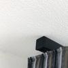 Cubo binario per tende in alluminio anodizzato nero tenda wavw