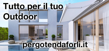 Banner pergotenda forli