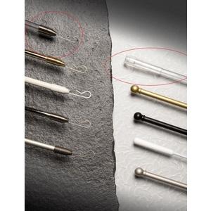 FRUSTA TIRATENDA DIAM.11 mm.  IN PLASTICA TRASPARENTE CON MANICO IN PLASTICA