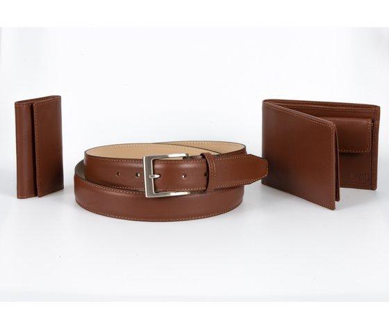 cintura + portafoglio + portachiavi