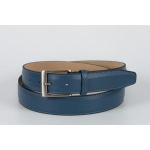 cintura vitello liscio jeans 3,5 cm