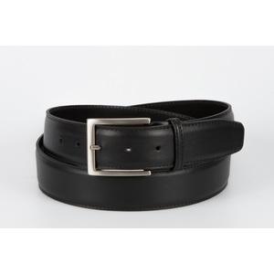 cintura vitello liscio nero 4 cm