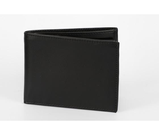 portafoglio classico uomo nero