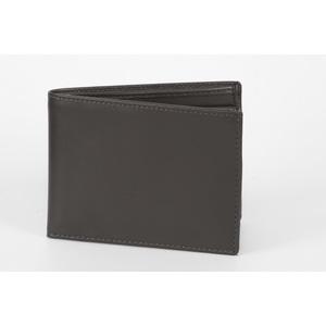 portafoglio classico uomo grigio