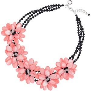 Collana floreale rosa Ottaviani
