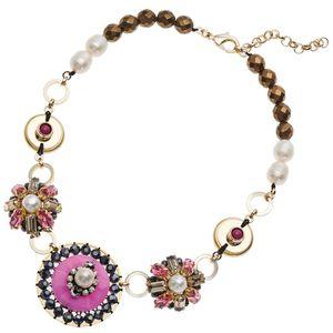 Collana perle, giada e cristalli Ottaviani