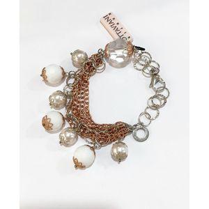 Bracciale perle e cristalli Ottaviani