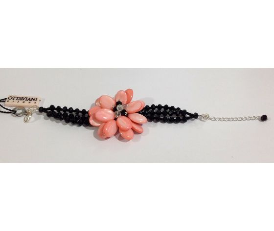 Ottaviani bracc fiore corallo 2