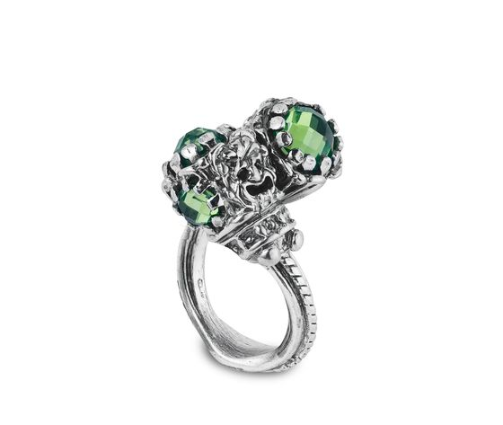 Anello contr. iride verde