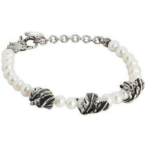 Bracciale perle e foglie Bottega Boccadamo