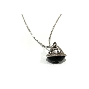 Collana lanterna pietra nera Liu-Jo