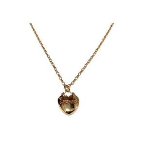 Collana pendente a cuore color oro Liu-Jo