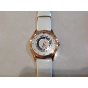 Orologio donna Galliano nouveau 3h white dial white stile