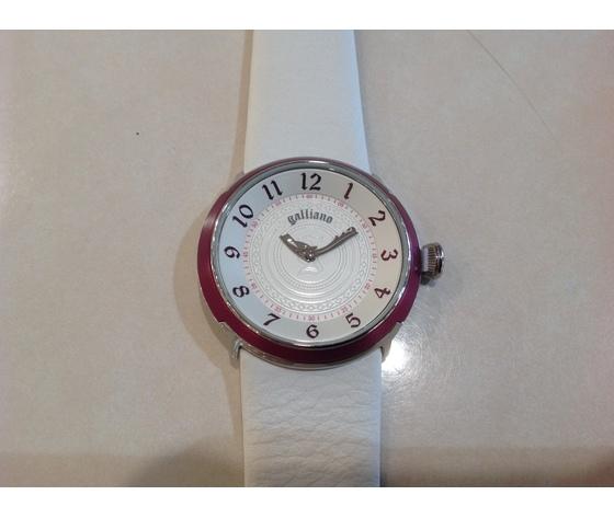 Orologio donna Galliano ledy 2h Silver white dial